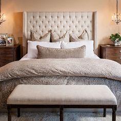 Simply elegant! #styleonashoestringdesign #interiordesign #masterbedroom #restorationhardware #shoprh