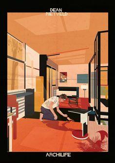 James Dean / Rietveld. (Federico Babina) Archilife