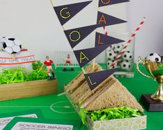 Soccer Tailgate Party Decor
