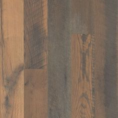 Pergo TimberCraft Reclaimed Barnwood Pine W x L Embossed Wood Plank Laminate Flooring at Lowe's. If you love the look of a mixed installation, this is your next floor. Pergo® TimberCraft™ floors are so amazingly realistic, it's hard Pergo Laminate Flooring, Vinyl Flooring, Hardwood Floors, Engineered Hardwood, Flooring Shops, Natural Wood Flooring, Reclaimed Barn Wood, Wood Planks, Cool House Designs