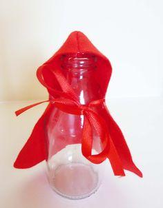 Garrafinha de Suco Chapeuzinho Vermelho