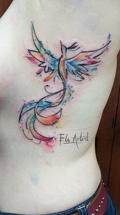 You can& defeat whoever never gives up Phoenix tattoo / Phoenix tattoo ♡ Ar . Mini Tattoos, Grey Ink Tattoos, Body Art Tattoos, Sleeve Tattoos, Wrist Tattoos, Tattos, Small Phoenix Tattoos, Phoenix Tattoo Design, Tattoo Phoenix