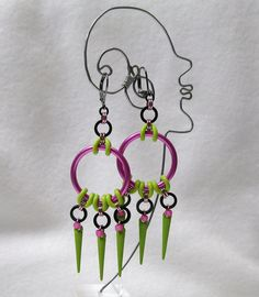 Stylin Summer Earrings by droolworthy on Etsy, $28.00