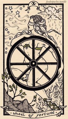 Fyodor Pavlov Tarot X Wheel of Fortune