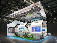 84 on Behance Spaceship Interior, Futuristic Interior, Futuristic Design, Exhibition Booth Design, Exhibition Ideas, Exhibition Stands, Exhibit Design, Exibition Design, Display Design
