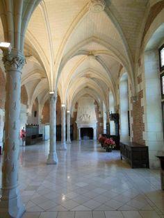 Château d'Amboise - Salle du Conseil.