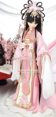 Ancient Chinese Pink Princess