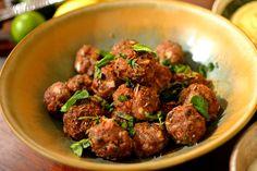 Kefta libanaises au bœuf à la menthe et au cumin (boulettes de viande)