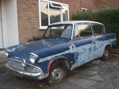 Ford Anglia, Barn Finds, Liverpool Fc, Abandoned, Classic Cars, Yard, Vehicles, Ebay, Left Out