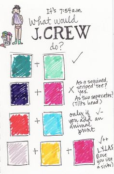 """wwjcd """"What would J.Crew do?"""""""