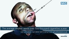 Why Graphic Anti-Smoking Ads Make Some People Smoke More Cigarettes Anti Smoking Poster, Banned Ads, Smoking Addiction, Stop Smoke, Funny Ads, Smoking Cessation, Eyes On The Prize, How To Stay Motivated, Web Design