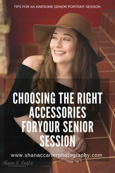 Choosing the Right Accessories for your Senior Pictures: Accessories can make or break your outfit Senior Photography, Photography Tips, Senior Picture Outfits, Choose The Right, Dangly Earrings, Senior Session, How To Better Yourself, Down Hairstyles, Senior Portraits