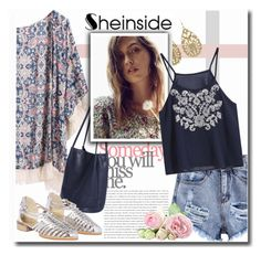 """""""Boho Chic with Sheinside"""" by chixdejesus ❤ liked on Polyvore featuring vintage, women's clothing, women, female, woman, misses, juniors and Sheinside"""