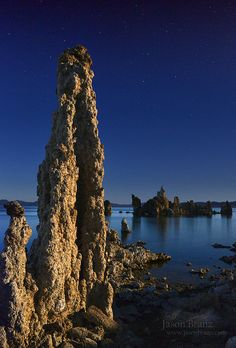 Moonlight Tufa, Mono Lake, California; photo by .Jason Branz