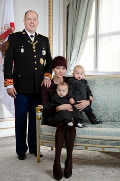 Nouvelles photos de la famille princière de Monaco