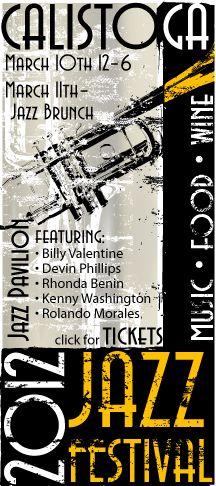 Calistoga Spring Jazz Festival
