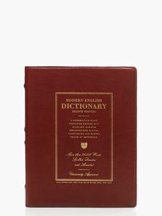 kate spade dictionary iPad folio - fun design & gift #commandress