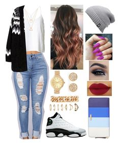 """""""#fall #fallfashion #streetfashion  #beanie #cardigan"""" by mrsbreezy0522 ❤ liked on Polyvore featuring TIBI, Retrò, Forever 21, The North Face and Kate Spade"""