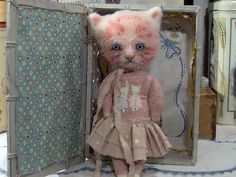Polka Dotty pink kitty