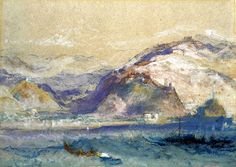 Genoa from the Sea Joseph Mallord William Turner - circa 1830