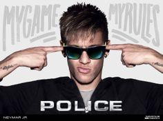 fb671e9260 Neymar Jr – 2014 Police Brand Ambassador   World Cup Poster Boy Recovering  Through Social Media