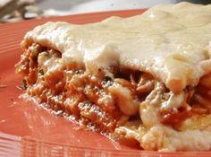 Chicken Lasagna Microondas
