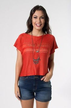 Uau!! esse look é de arrasar!!   Blusa tricot  ZOOM  http://imaginariodamulher.com.br/look/?go=2gbmgaT