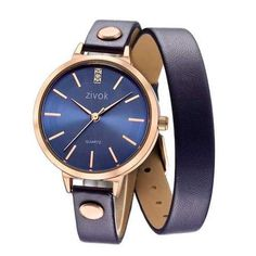 ZIVOK Women's Fashion Rose Gold Case Watches Leather Quartz Ladies Wrist Watch Bracelet Clock is hot-sale, waterproof watches, bracelet watch, and more other cheap women watches are provided on NewChic. Uganda, Gold Case, Or Rose, Rose Gold, Ladies Bangles, Sierra Leone, Montenegro, Casual Chic, Belts For Women
