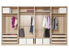 Ideas Bedroom Wardrobe Design Ikea Pax Closet System For 2019 Diy Walk In Closet, Walking Closet, Simple Closet, Build A Closet, Master Closet, Tiny Closet, Modern Closet, Small Closets, Bedroom Closet Design