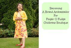 Becoming A Brand Ambassador for Finger O Fudge Children's Boutique