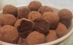 Dark Chocolate Red Wine Truffles - we could definitely make these at a chocolate party!