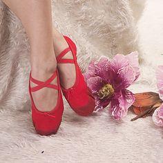 haute qualité des chaussures de toile de danse supérieure chausson de ballet de couleurs adultes et enfants de plus - EUR € 3.99