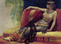 Cleopatra Painting by Alexandre Cabanel | Oil Painting