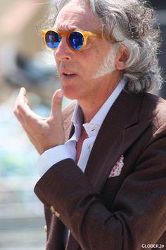 Old Man Fashion, Vintage Fashion, Mens Fashion, Lunette Style, Mirrored Sunglasses, Men's Sunglasses, Vintage Mode, Mens Glasses, Mens Clothing Styles