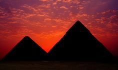 """Every sunset brings the promise of a new dawn.""     www.blueskygroup.net    Blue Sky Travel Egypt the best online travel agency in Egypt"