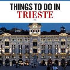 The Piazza Unità d'Italia in Trieste is the heart of a spellbinding city. Find out what to see in and do in this often-overlooked Italian gem. | Photo by Davide Oliva…