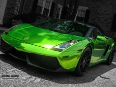 Awesome Lamborghini: Crazy Green Chrome Lamborghini Gallardo on Forgestar Cars Lamborghini Veneno, Lamborghini Aventador, Green Lamborghini, Ferrari, Lamborghini Photos, Audi, Bmw, Royce, Supercars