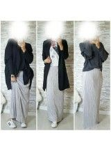 Veste longue femme musulmane