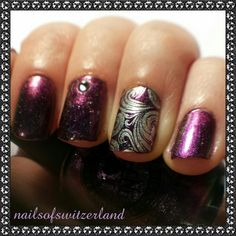 Peace from ILNP & stamping with @moyoulondon plates + A-England Excalibur Renaissance