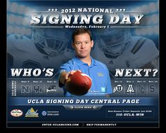 @UCLACoachMora signing an impressive 1st recruiting class as the new head football coach. Congrats to the entire staff!