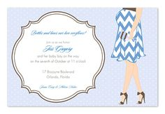 Awaiting Boy - Baby Shower Invitations by Invitation Consultants. (Item # IC-IN-1-3712 )