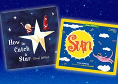 If your kids are fascinated by what they see in the skies above, these fantastic books about the sun, moon, stars, and space should keep them looking up!