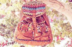 Cute Aztec print bag