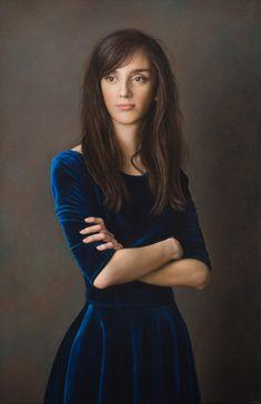 Dulcinea, 2016 olio su tavola cm 100x65 © Gianluca Corona