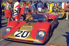 Masten Gregory / Gregg Young, #20 Ferrari 512M (Young American Racing / North American Racing Team) 24 Hours of Daytona 1971 (DNF)