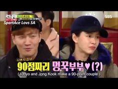 SpartAce  - Running Man Ep.332 (Kim Jong Kook & Song Ji Hyo) Kim Jong Kook, Running Man, Songs, Baseball Cards, Music, Youtube, Muziek, Musik, Youtube Movies