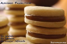 Alfajores Paleolíticos (sin gluten, sin lácteos, sin azúcar refinada). I heart alfajores.