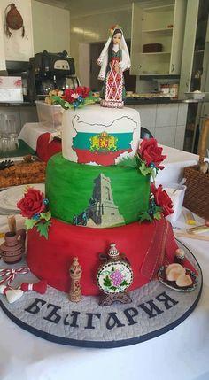 Bulgarian Flag, Art Costume, Costumes, Handmade Cosmetics, Cake Decorating, Birthday Cards, Wedding Cakes, Wedding Planning, Art Gallery