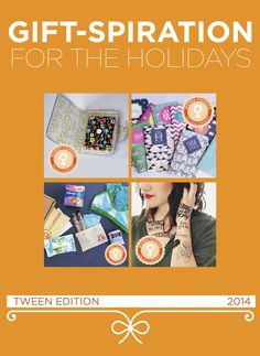 Gift-spiration: Tween/Teen Edition