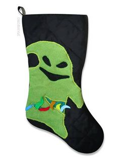 Oogie Boogie (and other NBC) stockings! (smashu)
